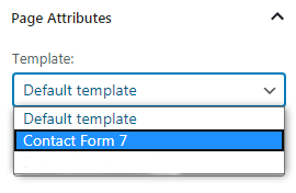 publish contact form